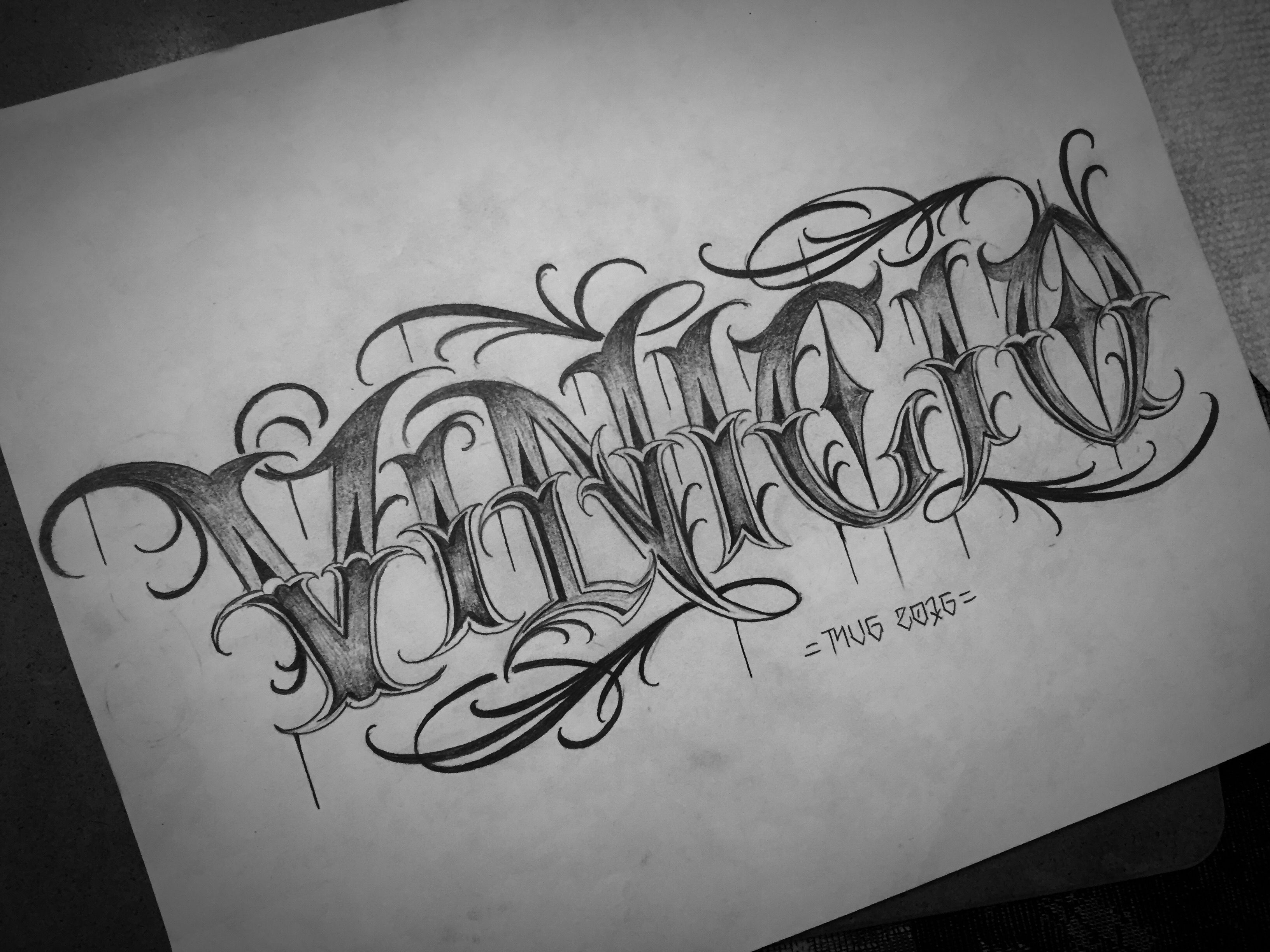 Pin by Marcos Vinicio on Calligraphy/ Lettering Art ...