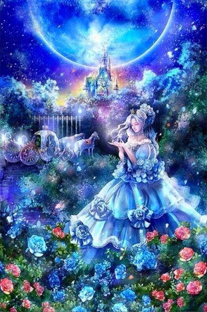 Fantasy Girls Diamond Embriodery