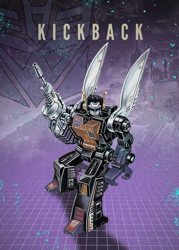 "Transformers Decepticons Kickback #Displate explore Pinterest""> #Displate artwork by artist ""Rykker o7"". Part of…   Displate thumbnail"
