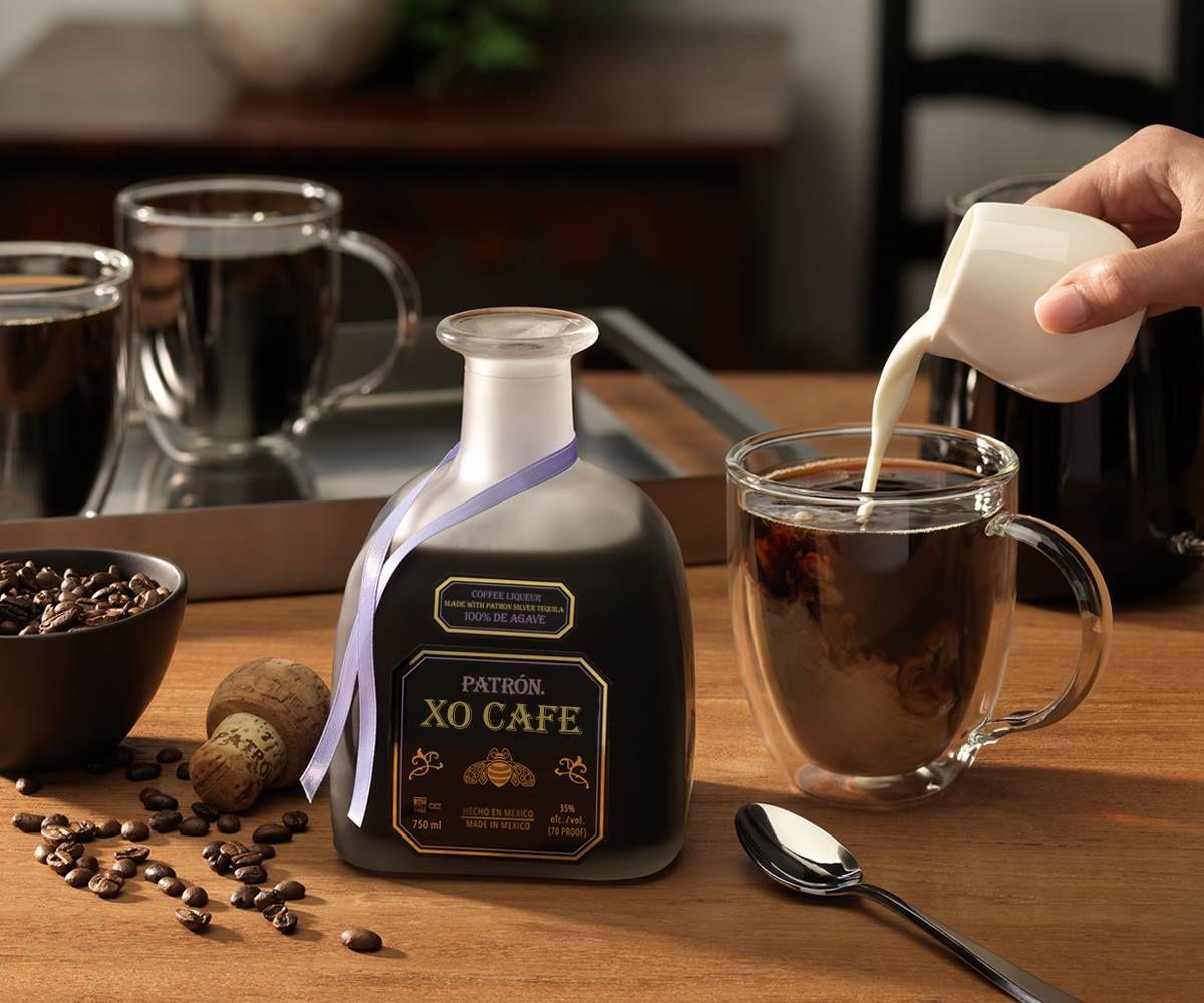 Cafe Royal 1.5 oz Patrón XO Cafe 8 oz Strong brewed coffee