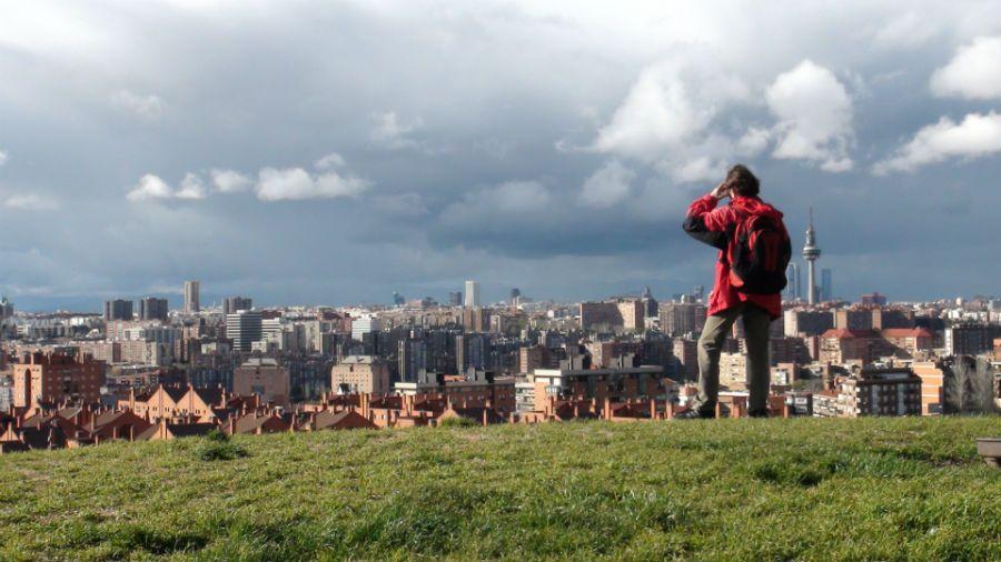 El Cerro Del Tio Pio Ofrece Imagenes Diferentes De Madrid Spania