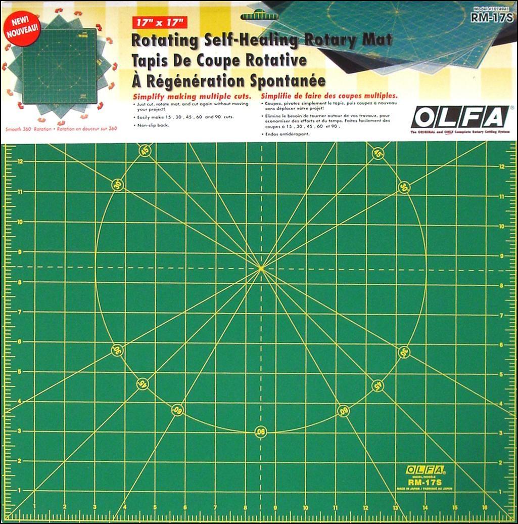 OLFA 17 Rotating Self-Helaing Rotary Mat
