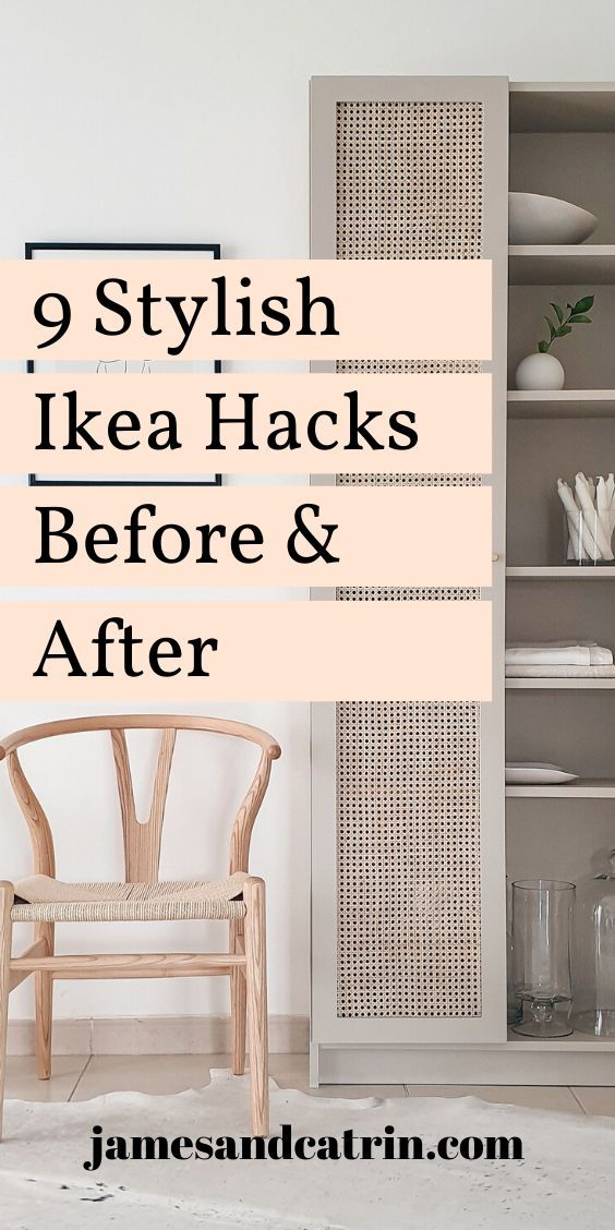 9 Ikea Hacks Before and After - james and catrin