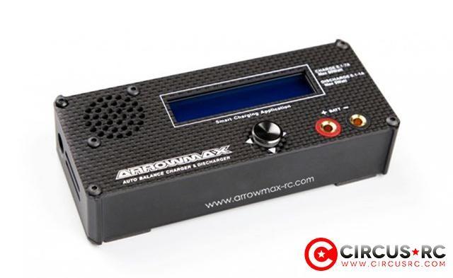 Chargeur/déchargeur compact Auto Balance DC Arrowmax