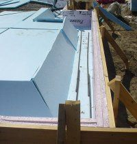 Monolithic slab on grade form insulated slab foundations for Monolithic pour foundation