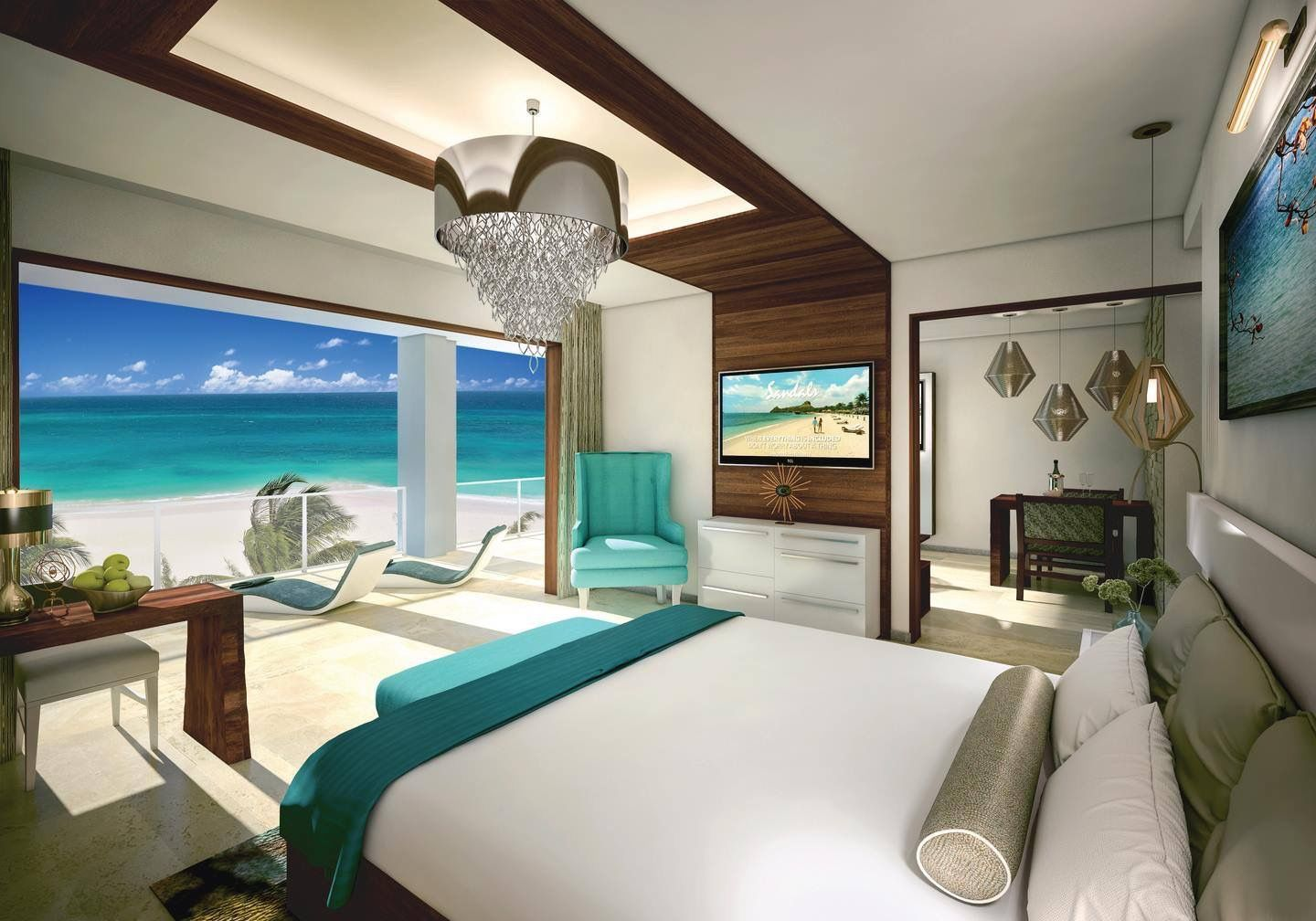 A Sandals 5-Star All Inclusive Hotel Beach Resort in