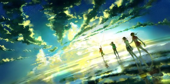 Between Infinity by yuumei on DeviantArt