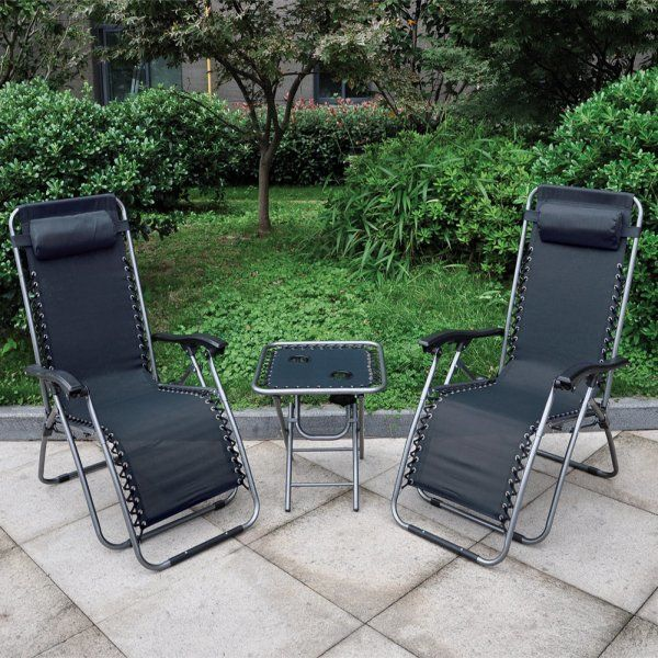 With powder coated steel frame and weather resistant