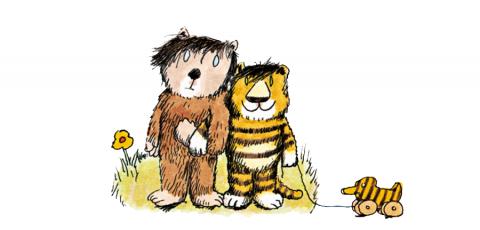 Janosch Zitate Weisheiten Von Tiger Und Bär Tiger Und Bär