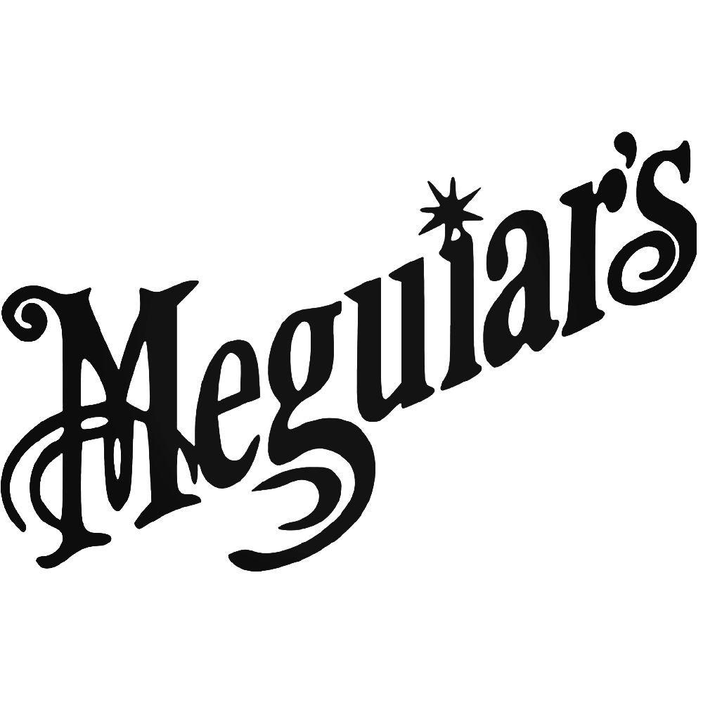meguiar s aftermarket vinyl decal sticker rh pinterest com meguiars color x where to purchase meguiar logo