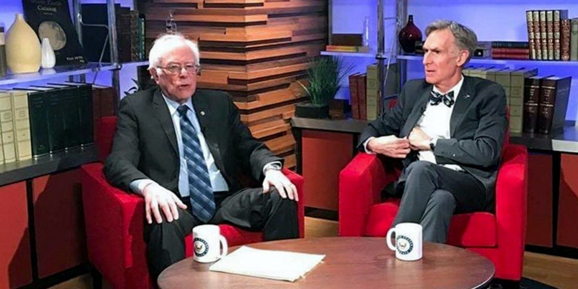 Bernie Sanders And Bill Nye Defend Climate Science Explain