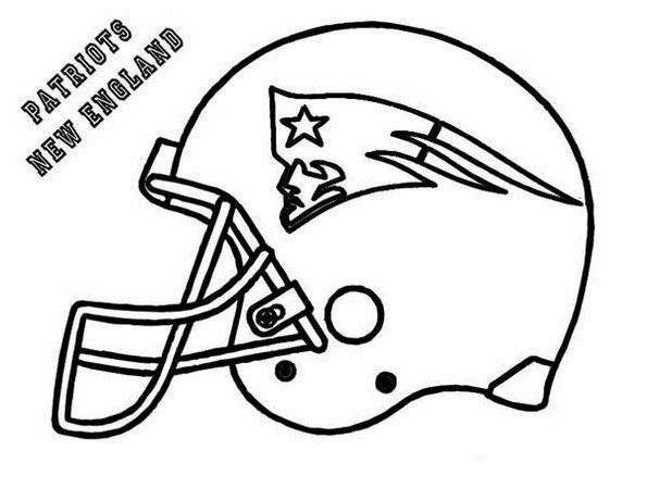 The Patriot New England Coloring Pages Printable Coloring Pages Printable Coloring Pages Football Coloring Pages