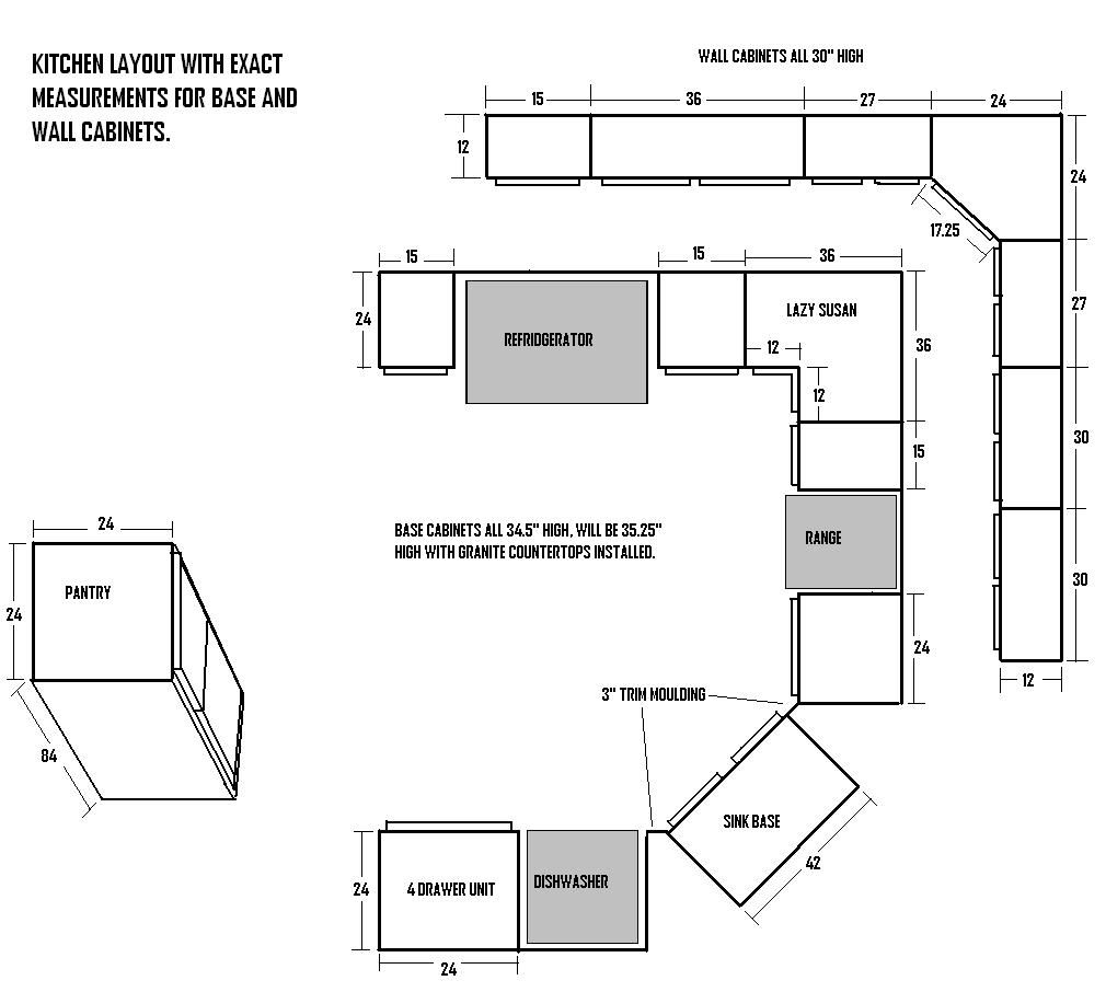 Kitchen Cabinets Sizes Standard Base Cabinet Height Which Includes