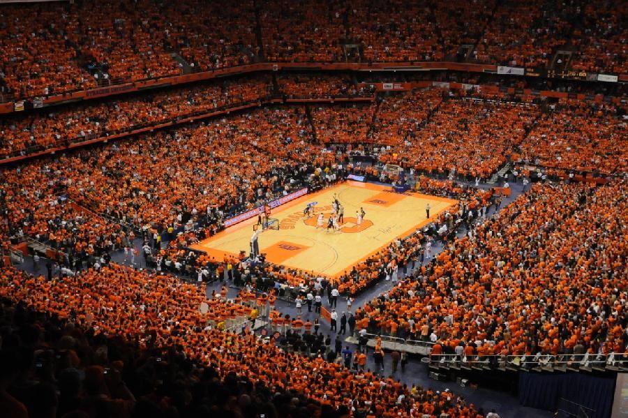 Sea Of Orange The Cuse Syracuse Basketball Basketball