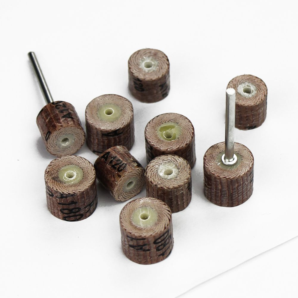 buffing wheel for drill. 10pc dremel 3000 abrasives accessories sandpaper grinding wheel mini drill rotary tool abrasive buffing polishing woodworking for