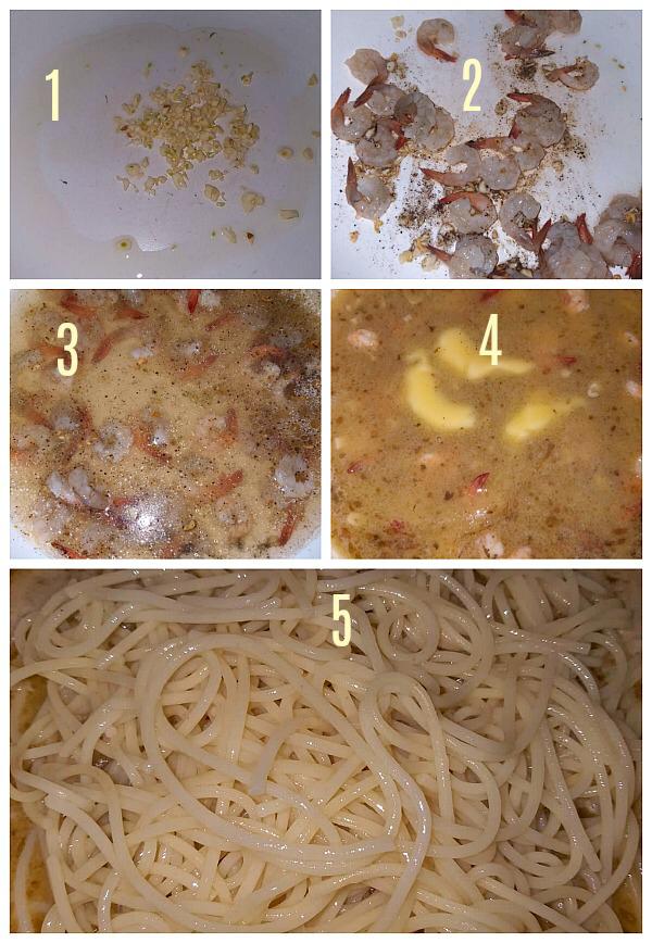 Shrimp Scampi Recipe #shrimpscampi Step by Step Pictures of how to make Shrimp Scampi Recipe #shrimpscampi