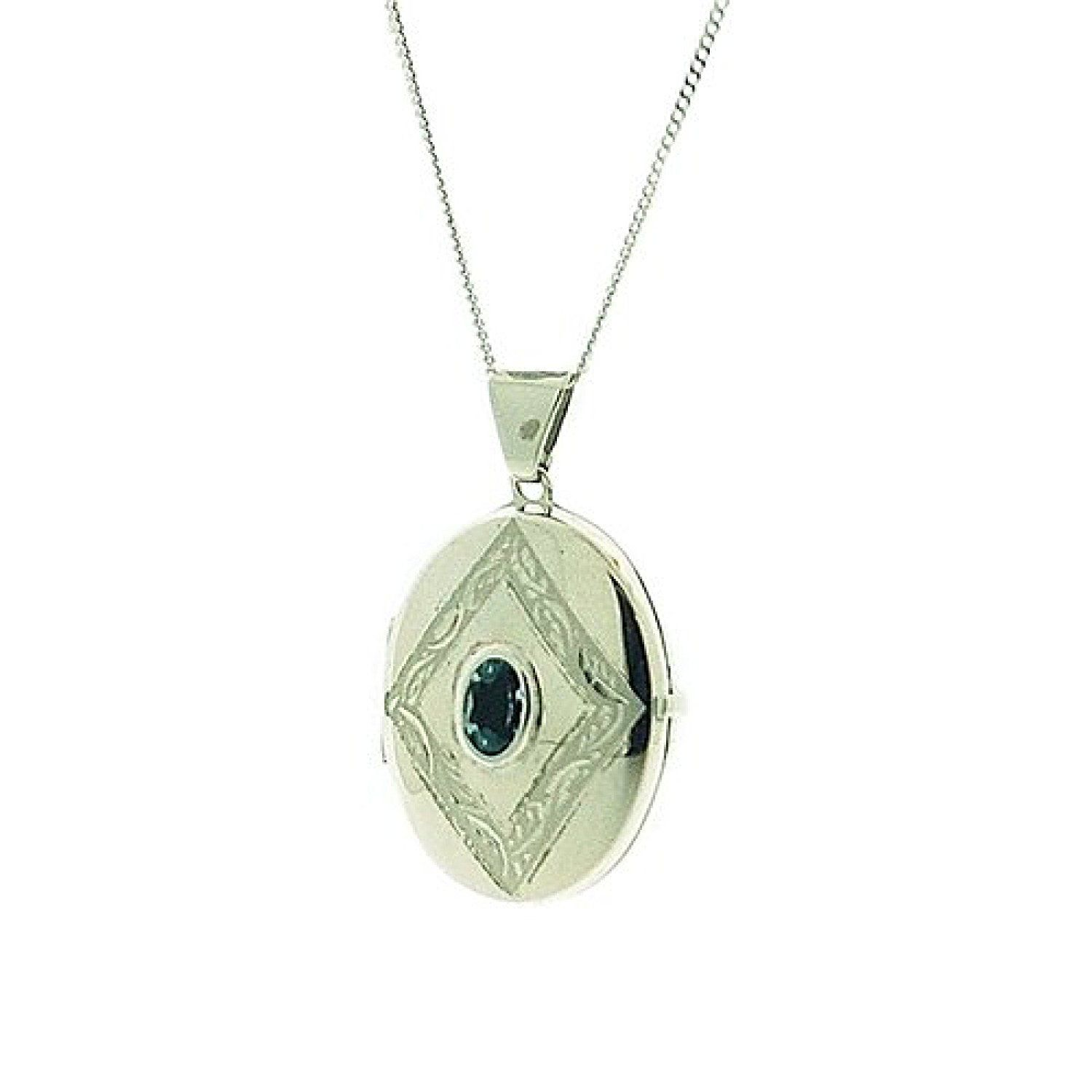TOC Sterling Silver Butterfly Engraved Round Locket Necklace18 Un0HLiFR5D