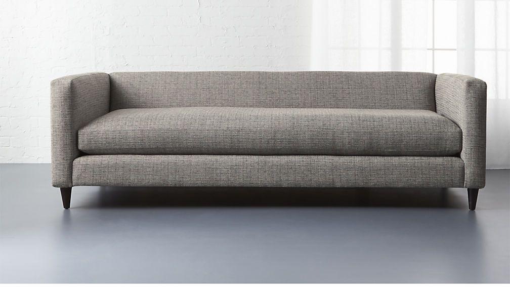 Movie Sofa Cb2 With Images Low Profile Sofa Sofa Modern Sofa