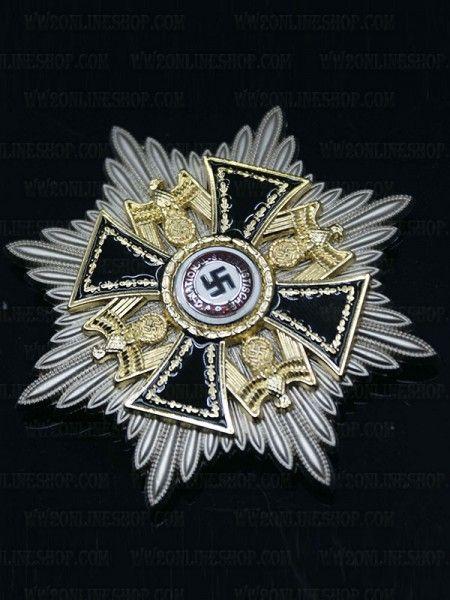 Replica of the german order deutscher orden grand star ww2 medals pinterest german ww2 - German military decorations ww2 ...