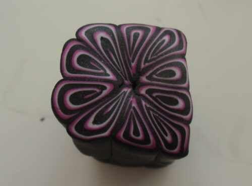 Fimo Polymer Clay Anleitung simple Spiralcane Schritt für Schritt, anfängertauglich