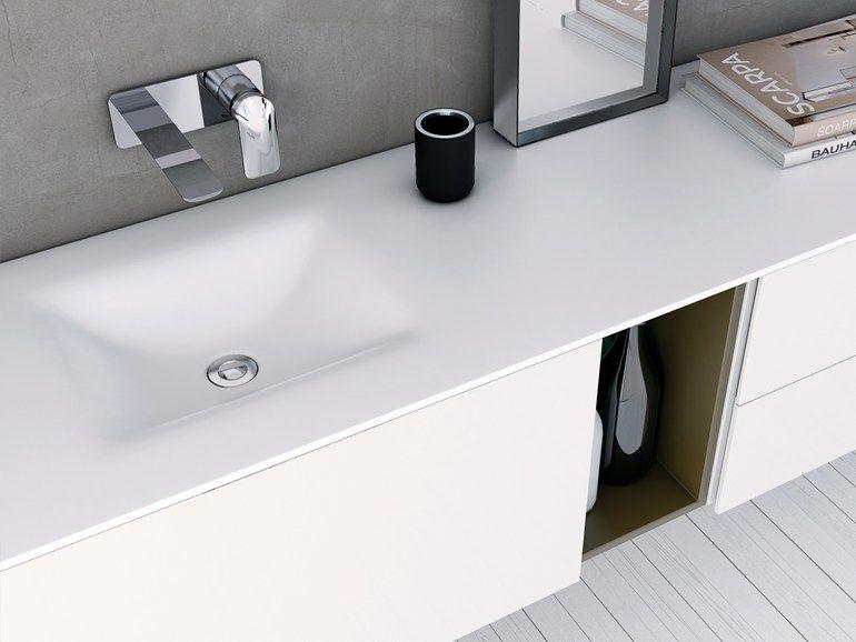 D4 Piano lavabo in Corian® by INBANI design INBANI | Bagno ...