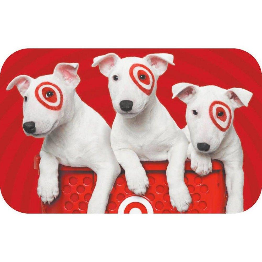 Bullseye trio 200 giftcard target gift cards target