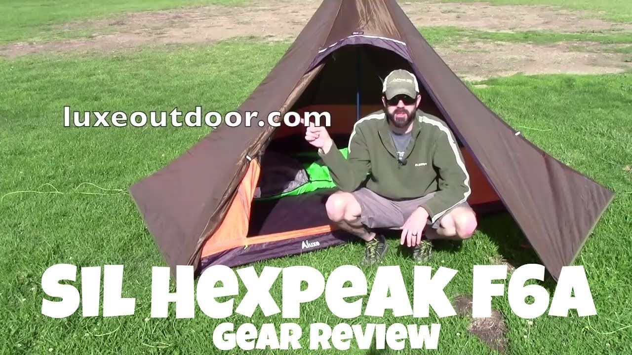 reputable site f2347 e2ee3 LUXE Sil Hexpeak F6a Teepee Tent Review | Gear | Tent ...