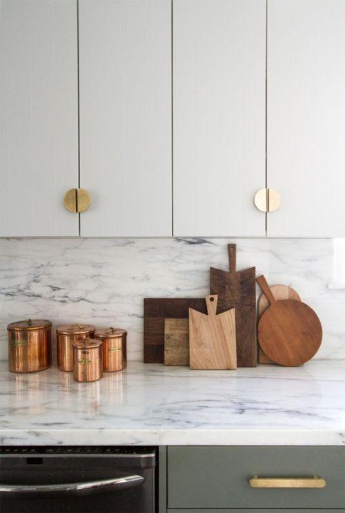 Credence Marbre Plan De Travail En Marbre Ikea Kitchen Design Minimalist Home Interior Kitchen Interior