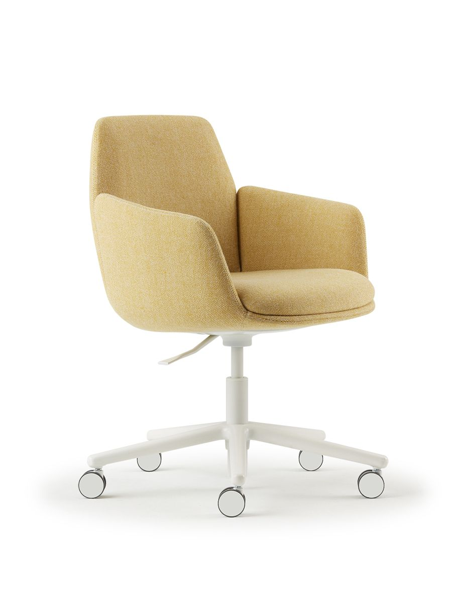 Poppy Chair Designed In Partnership With Patricia Urquiola Mid Century Modern Office Chair Office Chair Design Bedroom Office Combo