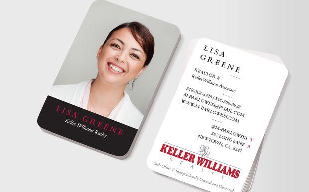 Identity Card Design, Keller Williams Business Cards, Id