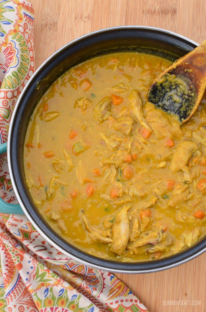 Slimming Eats Coconut Chicken And Sweet Potato Curry