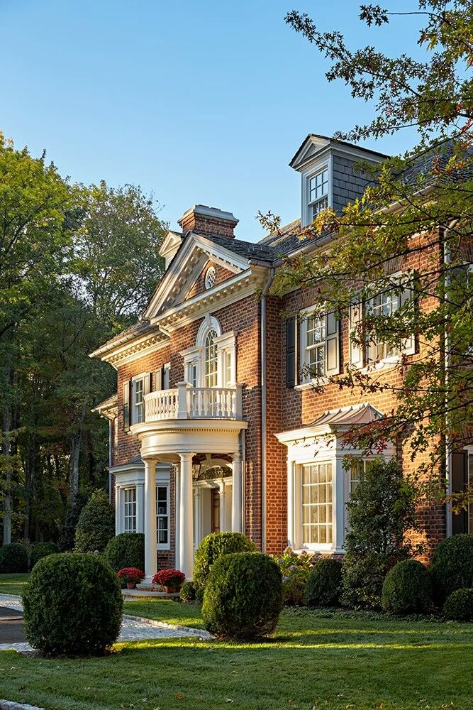 Pin By Anna Marie On Estate Garten Colonial House Exteriors