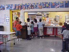 Lunchroom silver spoon award