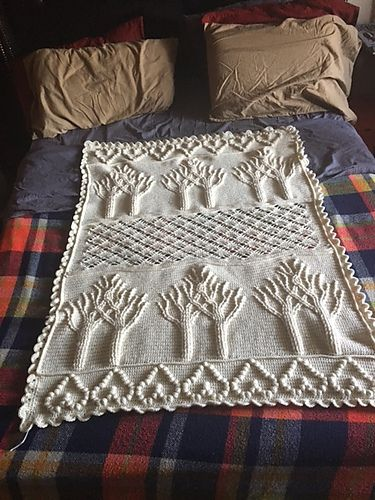 Ravelry: Project Gallery for Tree of Life Afghan (Crochet) pattern ...