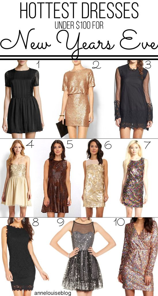 01516fdc3d62 Hottest New Years Eve Dresses Under  100
