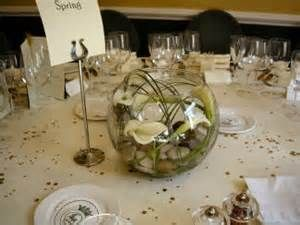 decorations for a glass round bowl & stone wedding centerpieces - Yahoo Image Search Results | Wedding ...