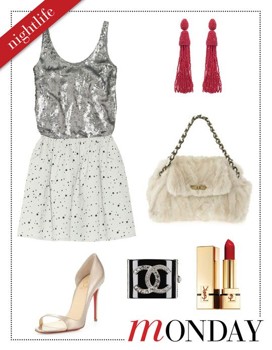 Mizhattan - Sensible living with style: *MIZZY'S WEEKLY WARDROBE* Chinti and Parker Mini Skirt