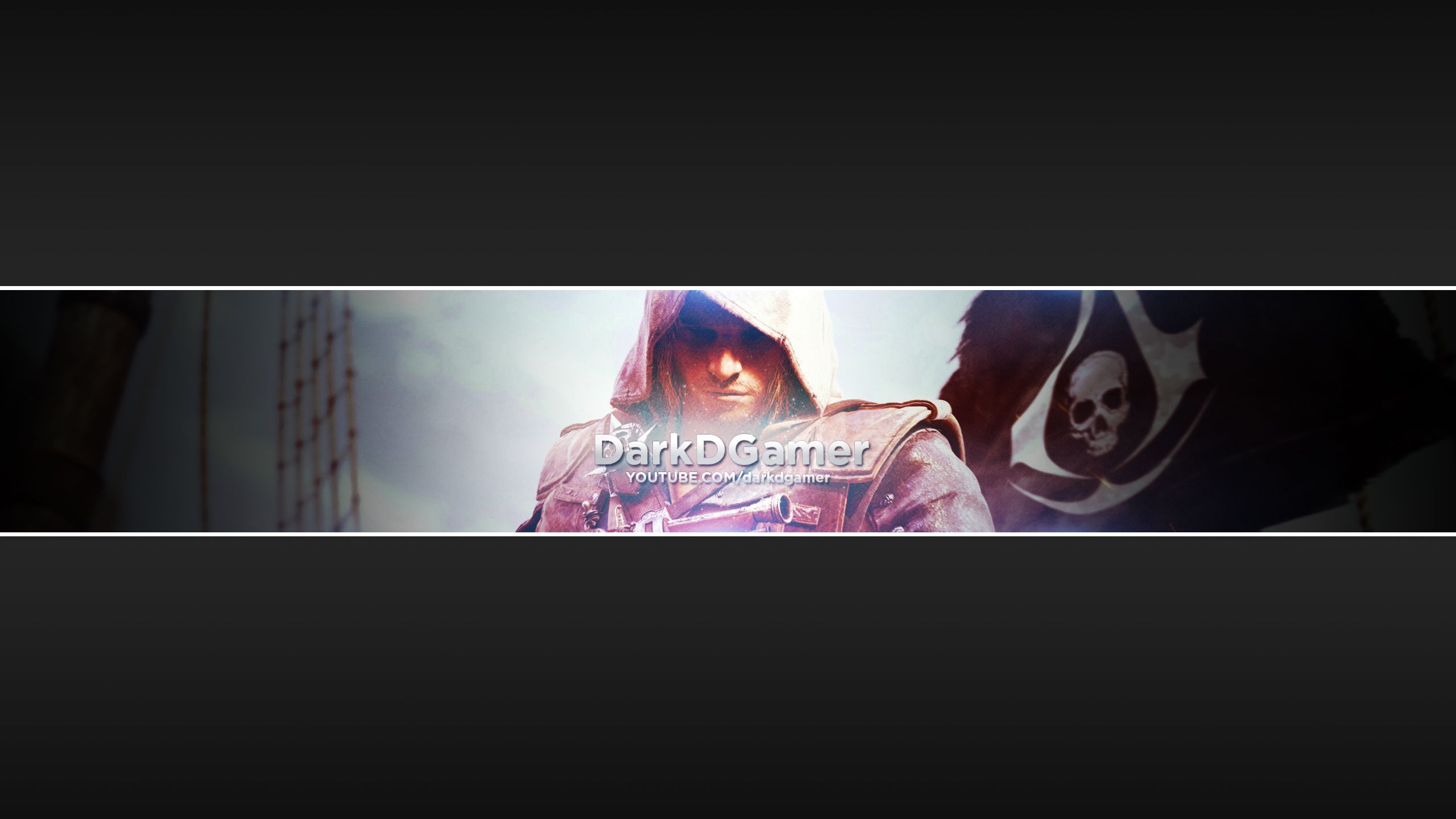 Assassin S Creed Youtube Banner Youtube Banners Youtube Shadow