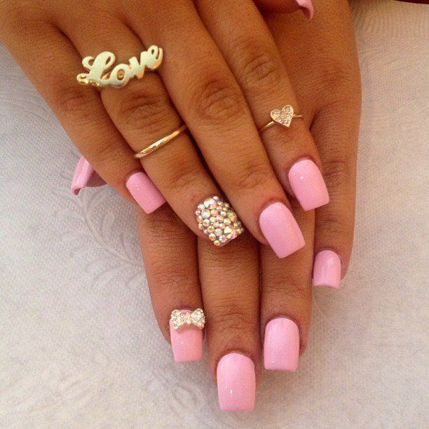 16 pretty gem nail designs you wont miss girly make up and 16 pretty gem nail designs you wont miss prinsesfo Image collections