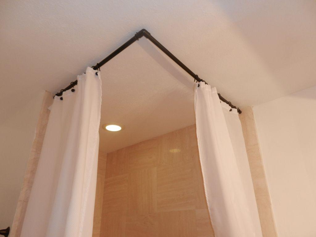 Arch window curtain rod minimalist home decorasi pinterest