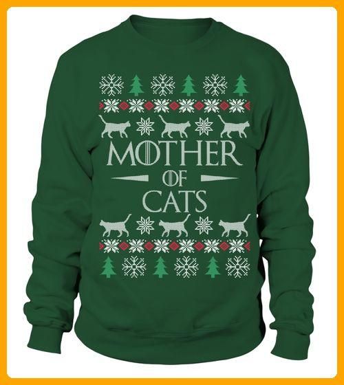 Mother of Cats Christmas Sweater - Weihnachten shirts (*Partner-Link)