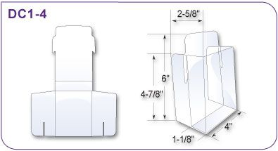 brochure holder template