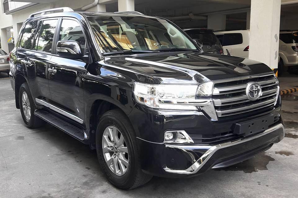 2018 Toyota Land Cruiser VXL V8 車