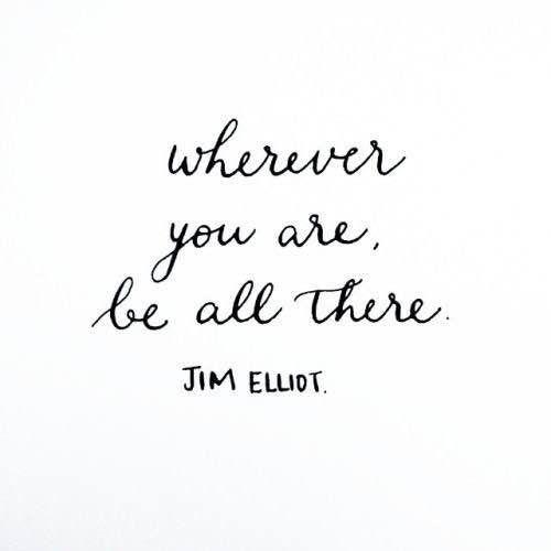 Hoy haz tu mayor esfuerzo por estar presente donde estés. Buenos dias! #connectwithyourmisma