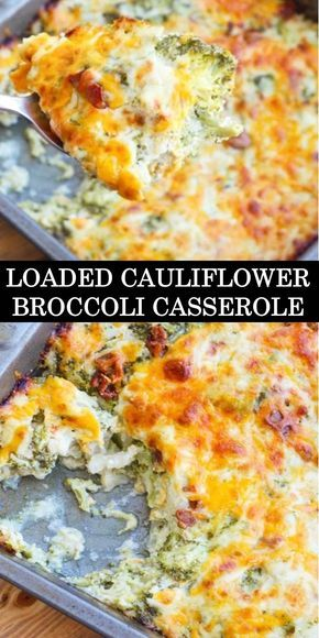Photo of #The #World's #most #delicious #Loaded #Cauliflower
