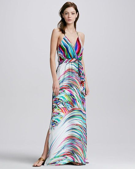 da643e0ed0 Beach Wedding Bound? Go Bold and Breezy in These 25 Dresses: This Milly  printed halter maxi dress ($525) is pure eye candy.