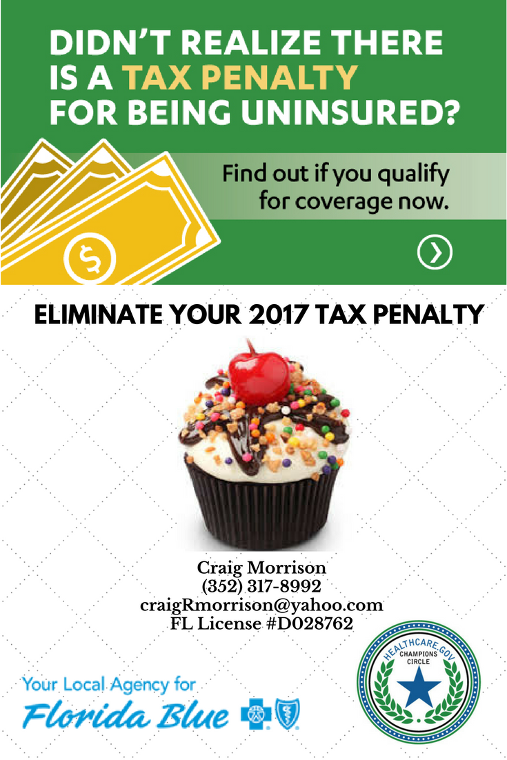 Avoid Income Tax Penalty For 2107 Purchase Health Insurance Now