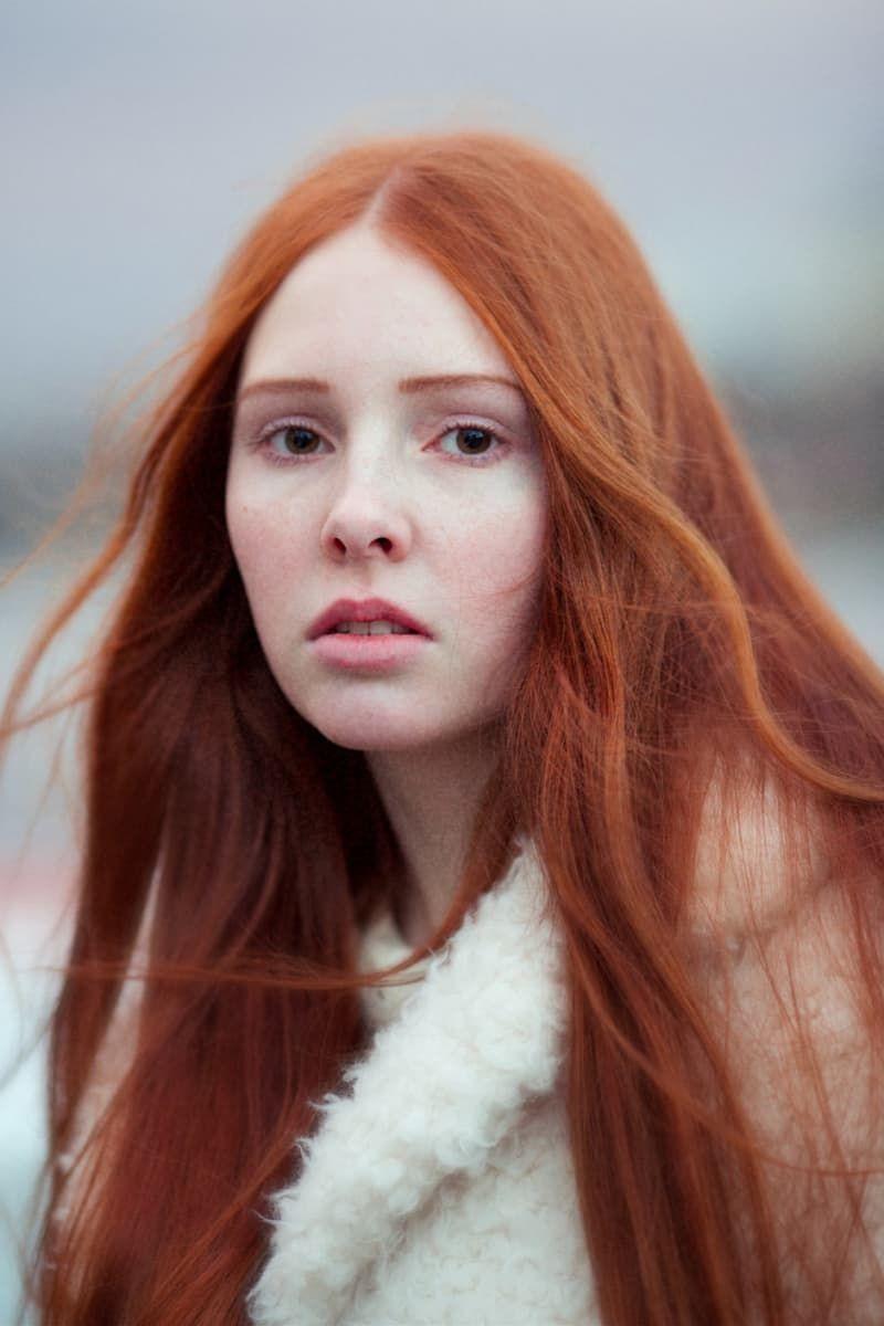 Rote haare frau irische Rot sind