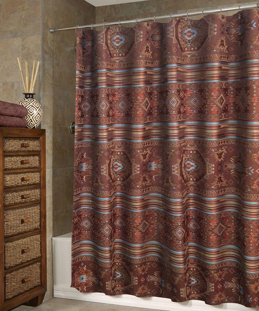 Diamond Creek Shower Curtain Curtains Veratex Shower Curtain