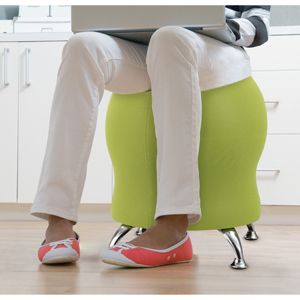 Active chairs have replaced the fit ball as an alternative to the office chair